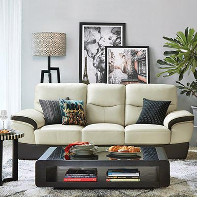 Low Console Table Behind Sofa
